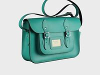 Designer Leather Satchel Bag