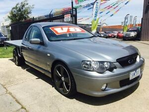 2004 Ford Falcon BA XLS 4 Speed Auto Seq Sportshift Cab Chassis Brooklyn Brimbank Area Preview