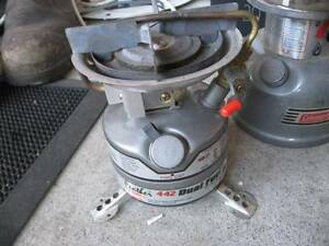 Coleman Peak1 Camping Cook Stove Feather 442 Dual Fuel Camp Clayton Monash Area Preview