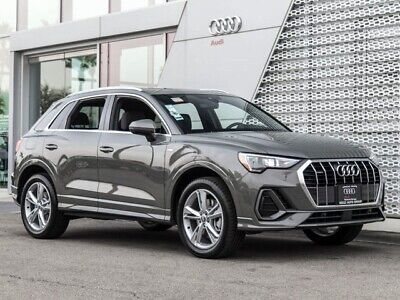 2020 Audi Q3 45 TFSI 2.0T Premium 2020 Audi Q3 45 TFSI 2.0T Premium 8-Speed Automatic with Tiptronic 3707 Miles Ch