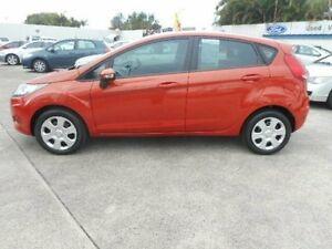 2012 Ford Fiesta WT CL Orange 5 Speed Manual Hatchback Currimundi Caloundra Area Preview