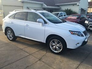 2010 Lexus RX450H GYL15R Sports Luxury White Pearl 1 Speed Constant Variable Wagon Park Holme Marion Area Preview