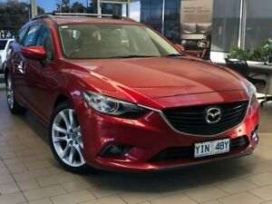 2012 Mazda 6 GJ1031 GT SKYACTIV-Drive Red 6 Speed Sports Automatic Wagon Belconnen Belconnen Area Preview
