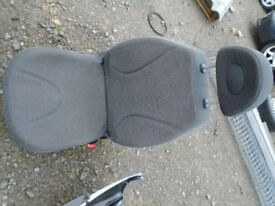 NISSAN MICRA DRIVERS SIDE SEAT