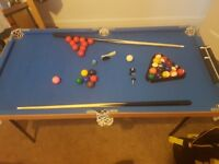 Pool - Snooker Table for kids :) Good condition