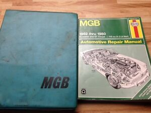 Manuals for 1970 MGB