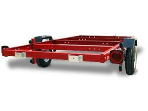 3 WAY FOLDING TRAILER-FLAT DECK & BOAT TRAILER 4X8 for only $699