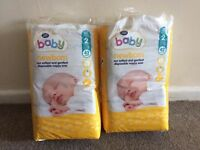Unopened boots size 2 nappies