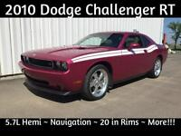 2010 Dodge Challenger RT ~ Hemi w/6sp Standard ~ Low Kms!!!