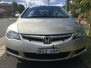 2008 Honda Civic VTi Gold Tiptronic Sedan Croydon Burwood Area Preview