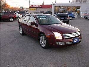 2007 FORD FUSION SEL *** LOADED *** SUNROOF *** LEATHER ***