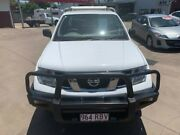 2009 Nissan Navara D40 RX (4x4) White 6 Speed Manual Cab Chassis Pialba Fraser Coast Preview