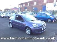 2007 (07 Reg) Ford Fiesta 1.4 Style Climate 3DR Hatchback PURPLE + LOW MILES