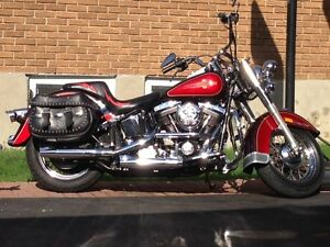 Harley Softail Hertiage