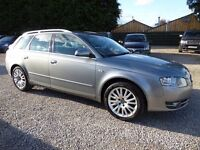 Audi A4 Avant 2.0 T FSI SE ....Full Leather Interior, Superb Condition Throughout, Service History