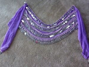 Georgeous new belly-dance hip scarves