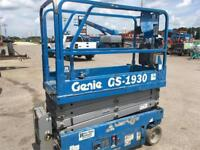 Genie GS1930 Electric Scissor Lift Winnipeg Manitoba Preview
