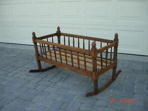 Antique cradle