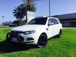 2012 Ford Territory SZ TX (4x4) White 6 Speed Automatic Wagon Maddington Gosnells Area Preview