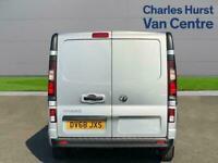 2018 Vauxhall Vivaro 2900 1.6Cdti 120Ps Sportive H1 Van Van Diesel Manual