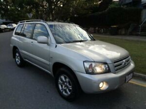 2005 Toyota Kluger MCU28R Upgrade Grande (4x4) Silver Metallic 5 Speed Automatic Wagon Chermside Brisbane North East Preview