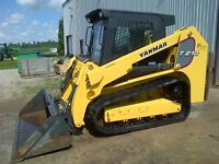 2012 Yanmar T210 Compact Track Loader with Cab