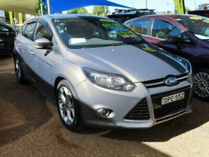 2013 Ford Focus LW MKII Sport PwrShift Bronze 6 Speed Sports Automatic Dual Clutch Hatchback