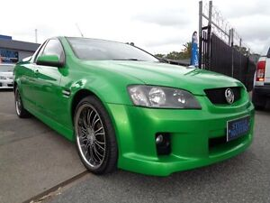2009 Holden Commodore VE MY09.5 SV6 Green 6 Speed Manual Utility Pooraka Salisbury Area Preview