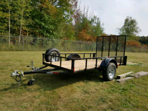 New 2017 HD Utility Trailer 5x10