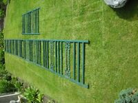 5 x metal panels- ideal for fencing