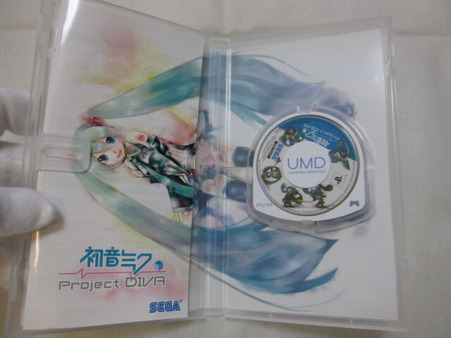 PSP Project Diva 1 Hatsune Miku Japan Import. Vocaloid Used SONY