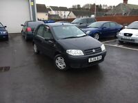 Fiat Punto 1.2, Long MOT, Low Miles, Serviced, Warranty, Great Condition