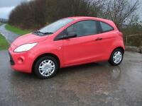 FORD KA 1.2 STUDIO 3d 69 BHP (red) 2009