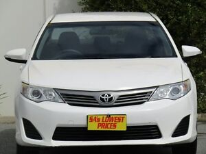 2012 Toyota Camry ASV50R Altise White 6 Speed Sports Automatic Sedan Melrose Park Mitcham Area Preview