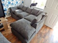 DYLAN JUMBO CORD CORNER OR 3+2 SEATER SOFA SET AVAILABLE IN STOCK IN MANY COLORS