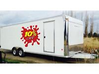 CargoPro Stealth Supreme Auto hauler / enclosed cargo trailer