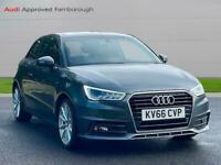 2016 Audi A1 1.6 Tdi S Line 3Dr S Tronic Auto Hatchback Diesel Automatic
