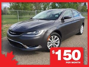 2015 Chrysler 200C LIMITED    **LEATHER-SUNROOF**
