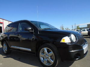 2007 Jeep Compass LIMITED EDITION--4X4--LEATHER-SUNROOF--AMAZING