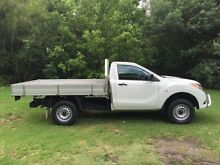 2013 Mazda BT-50 XT - Hi-Rider Cool White 6 Speed Automatic Cab Chassis - Single Cab South Albury Albury Area Preview