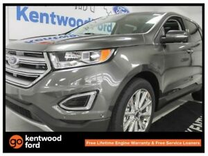 2017 Ford Edge Titanium 302A- 2.0L Ecoboost auto AWD, NAV, panor
