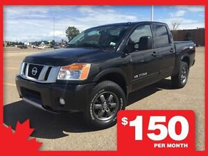 2015 Nissan Titan Crewcab PRO-4X  **LEATHER-NAV-SUNROOF**