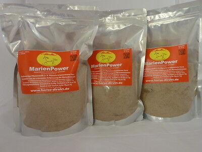 Mariendistel 4,5 kg., orig. Marienpower.. Presskuchen,gemahlen, aus kaltpressung ()