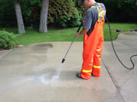 Pressure Washing on all Surfaces / Gum and Graffiti Removal