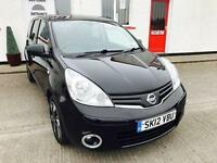 2012 12 NISSAN NOTE 1.4 N-TEC PLUS 5D 88 BHP