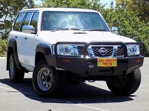 2012 Nissan Patrol Y61 GU 8 DX White 4 Speed Automatic Wagon Blair Athol Port Adelaide Area Preview