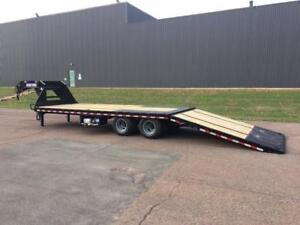 """NEW 2019 SURE-TRAC 102"""" x 30' G/N DECK-OVER TRAILER (10 TON)"""
