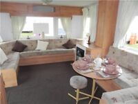 CHEAP STATIC CARAVAN AT CRESSWELL TOWERS HOLIDAY PARK NORTHUMBERLAND NE61 5JT