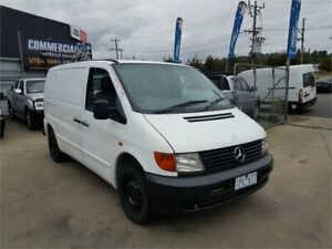 1999 Mercedes-Benz Vito 108CDI White 5 Speed Manual Van Lilydale Yarra Ranges Preview