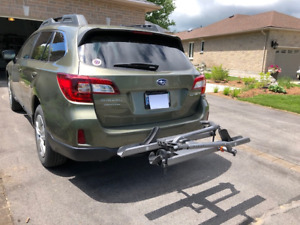Hitch Style Platform Bike Rack